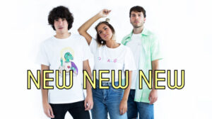 organic cotton and colourful t-shirts by lelemonade
